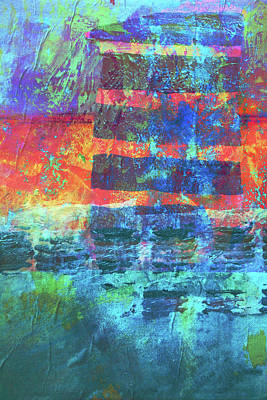 Art Print featuring the painting Language by Nancy Merkle