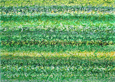 Painting - Language Of Grass by Jason Messinger
