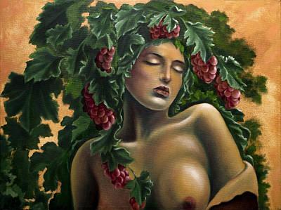 Painting - Languorous Vine by Siyavush Mammadov