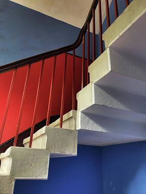 Photograph - Lanhydrock Stairs by Pat Moore