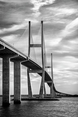 Photograph - Lanier Bridge At Sunset II by Jon Glaser