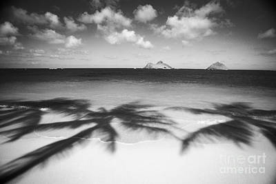 Lanikai Beach - Bw Art Print by Dana Edmunds - Printscapes