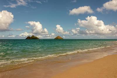 Photograph - Lanikai Beach 5 - Oahu Hawaii by Brian Harig