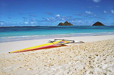 Lanikai Beach Oahu Art Print by Thomas R Fletcher