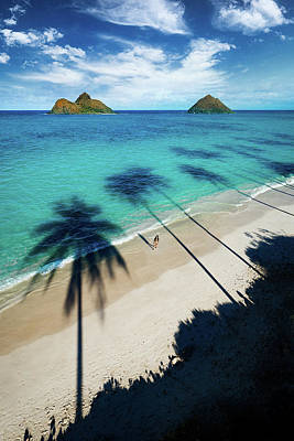 Photograph - Lanikai Shadows by James Roemmling