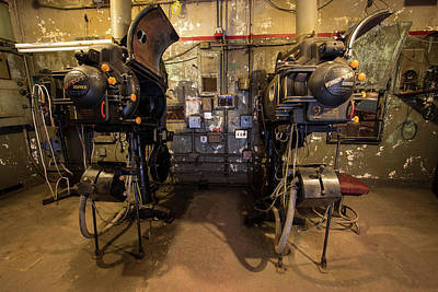 Photograph - Lansdowne Projection Room by Michael Porchik