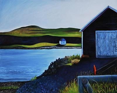 Painting - L'anse-aux-meadows by Lynda Diamond