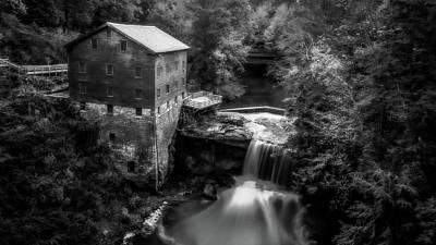 Youngstown Ohio Photograph - Lantermans Mill 2 by Michael Demagall
