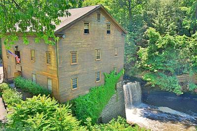 Photograph - Lanterman's Mill In Mill Creek Park by Lisa Wooten