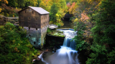 Youngstown Ohio Photograph - Lantermans Mill by Michael Demagall