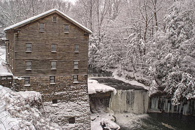 Photograph - Lanterman's Mill by Michael McGowan