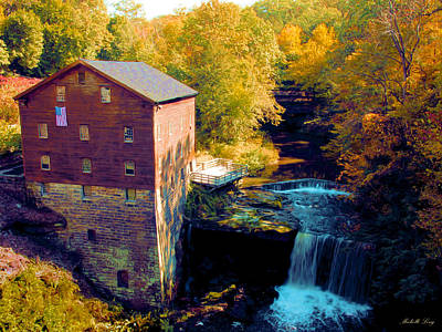 Lanterman's Mill Art Print by Michelle Joseph-Long