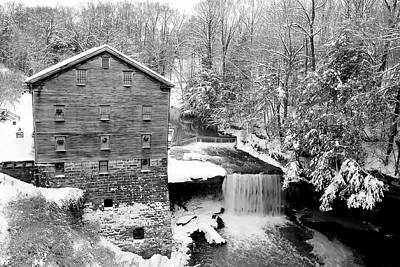 Photograph - Lantermans Mill Mill Creek Metropark by Michelle Joseph-Long
