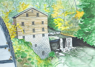 Lanterman's Mill - Mill Creek Park Art Print