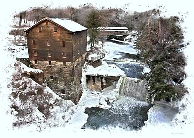 Photograph - Lanterman's Mill  by Suzanne Stout
