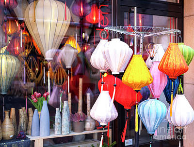 Photograph - Lantern Colors In Berlin by John Rizzuto
