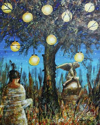Painting - Lantern Dreams by Dariusz Orszulik
