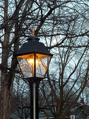 Photograph - Lantern by Elly Potamianos
