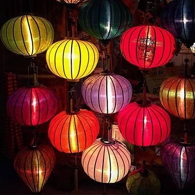 Photograph - Lantern Shop In Hoi An Vietnam by Paul Dal Sasso