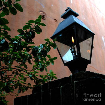 Photograph - Lantern Symbol In Charleston  by Jacqueline M Lewis