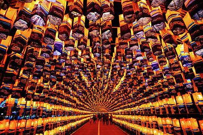 Photograph - Lantern Tunnel by Roy Cruz