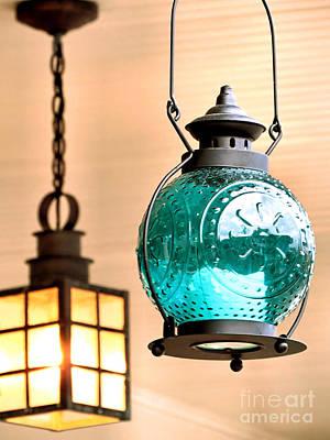Photograph - Lanterns by Janice Drew