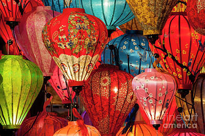Lanterns Art Print by Timm Chapman