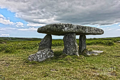Photograph - Lanyon Quoit  by Terri Waters