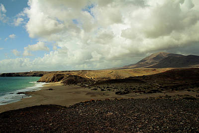 Travelling Photograph - Lanzarote by Cambion Art