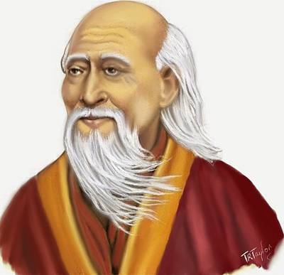 Painting - Lao Tzu by Ralph Taylor