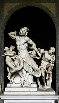 Photograph - Laocoon And His Sons by Weston Westmoreland