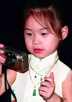 Digital Art - Laotian Princess by Joe Paradis