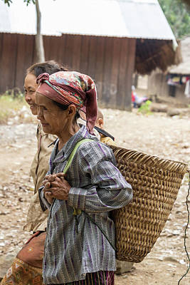 Photograph - Laotian Village by David Gleeson