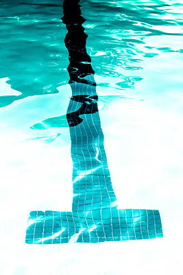Photograph - Lap Lane - Swim by Colleen Kammerer
