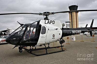 Lapd Photograph - Lapd Air Division by Tommy Anderson
