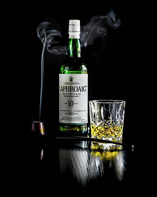 Photograph - Whiskey And Smoke by Adam Reinhart