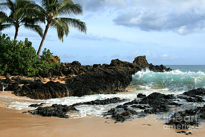 Lapiz Lazuli Stone Aloha Paako Aviaka Print by Sharon Mau