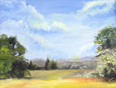 Painting - Lapoint Utah by Nila Jane Autry
