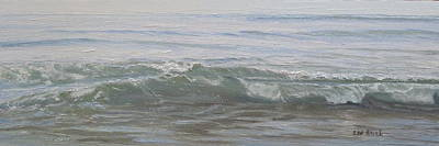 Painting - Lapping Waves On A Sunny Day by Lea Novak