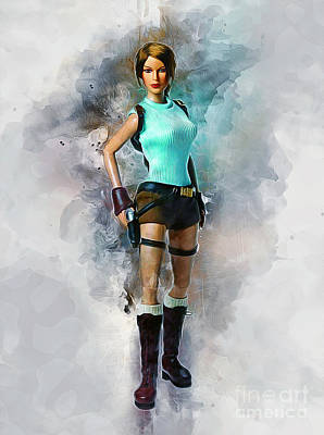 Painting - Lara by Ian Mitchell