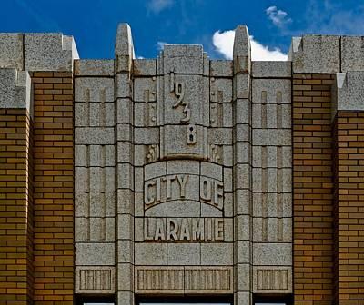Laramie Photograph - Laramie City Hall by Mountain Dreams