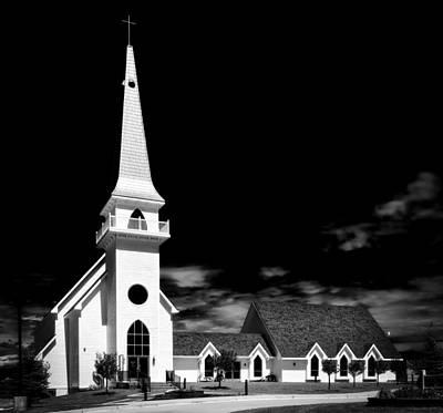 Laramie Photograph - Laramie Valley Chapel by Mountain Dreams