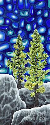 Painting - Larch Dreams 1 by Rebecca Parker