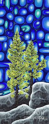 Painting - Larch Dreams 3 by Rebecca Parker