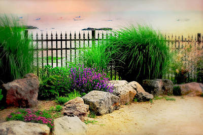 Photograph - Manor Beach Larchmont by Diana Angstadt