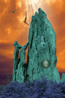 Photograph - Lares Compitales - Guardian Spirits Of The Crossroads by Mike Braun