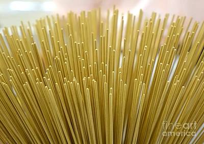 Photograph - Large Bundle Of Incense Sticks by Yali Shi
