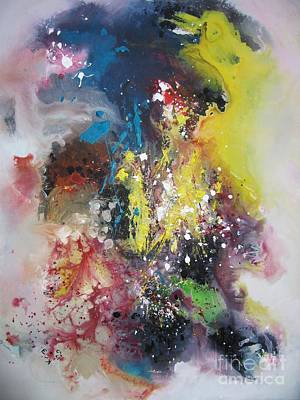 Painti Painting - Large Color Fever Series21 by Seon-Jeong Kim