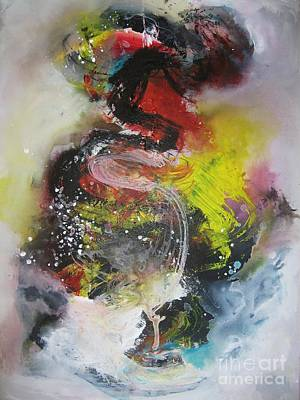 Painti Painting - Large Color Fever22-original Painting by Seon-Jeong Kim