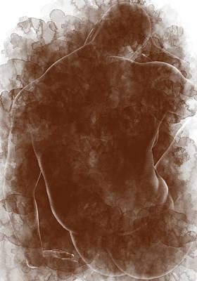 Digital Art - Large Man Backside by Peter J Sucy